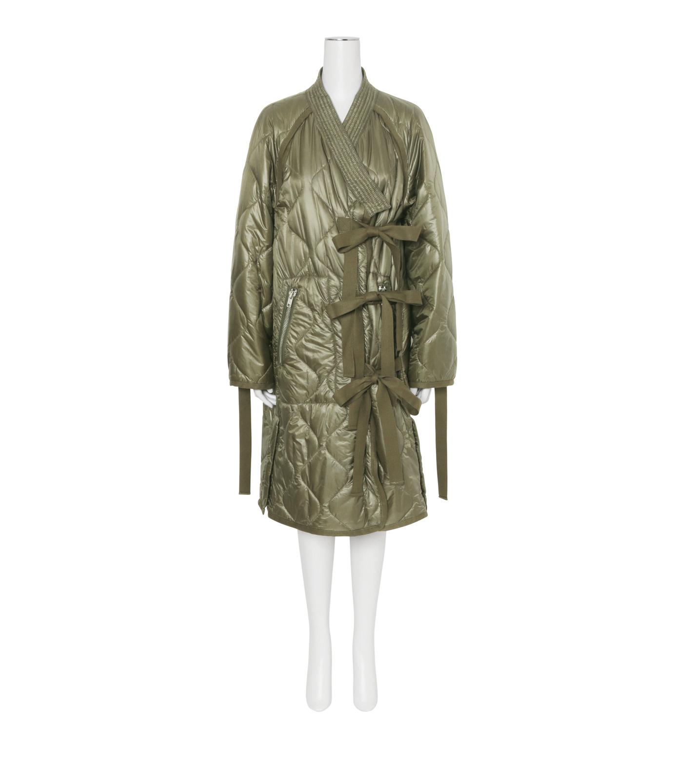 3.1 Phillip Lim(スリーワン フィリップリム)のLong Utility Kimono Jacket-KHAKI(コート/coat)-F161-8326RSN-24 拡大詳細画像3