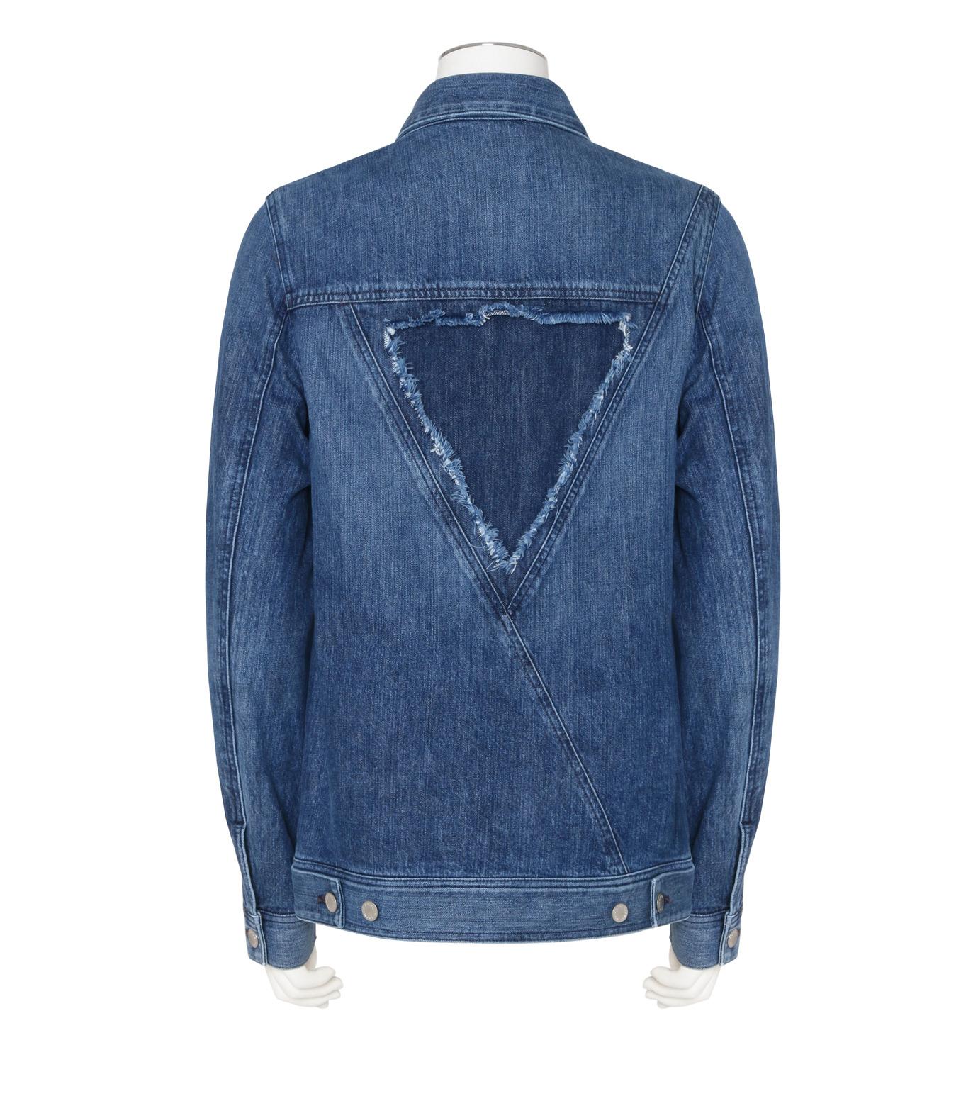 Public School(パブリックスクール)のDenim Jacket-BLUE(ブルゾン/blouson)-F16M206-92 拡大詳細画像2