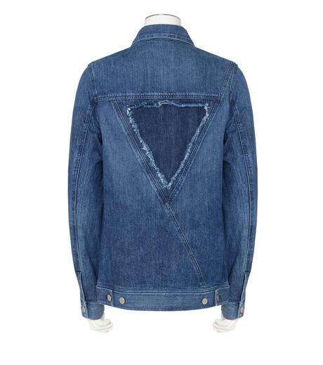 Public School(パブリックスクール)のDenim Jacket-BLUE(ブルゾン/blouson)-F16M206-92 詳細画像2
