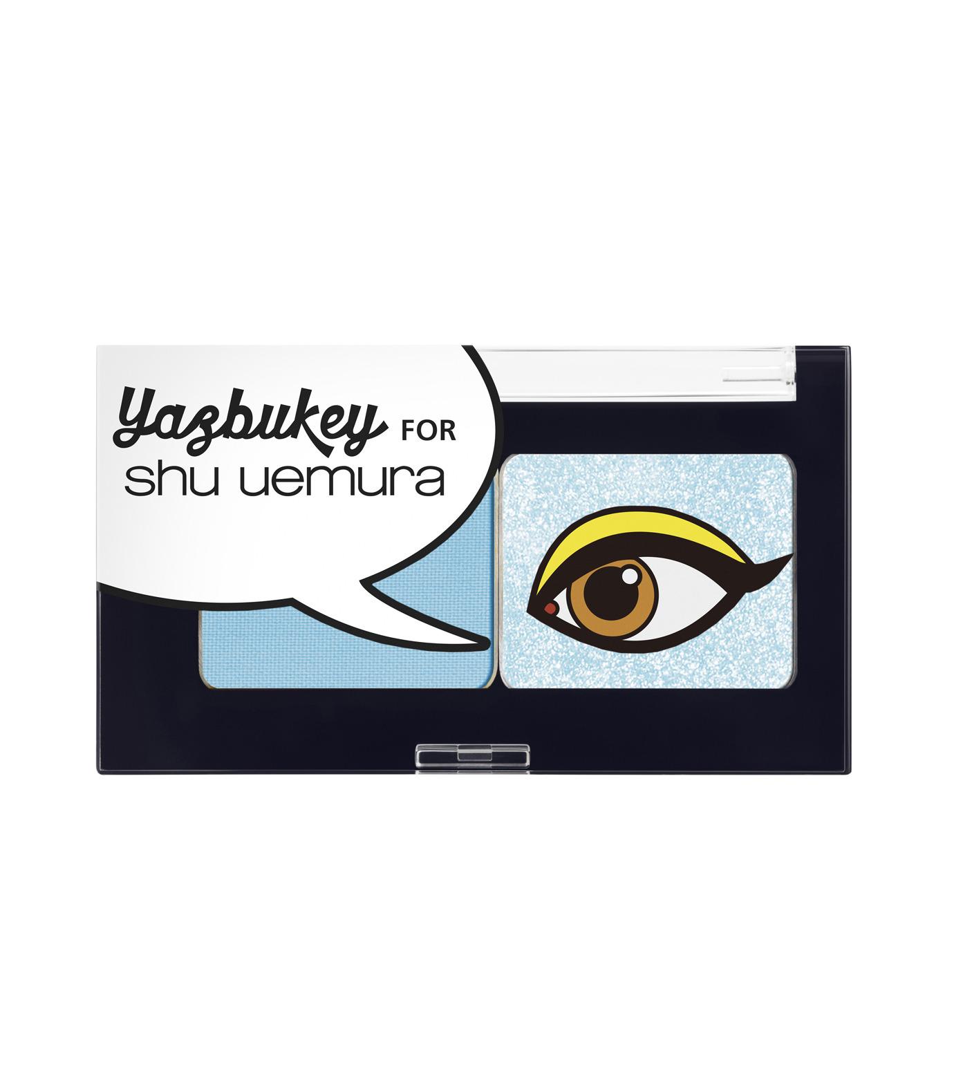 Yazbukey for shu uemura(ヤズブキー for シュウ ウエムラ)のDuo Eye Shadow -Blue--BLUE(MAKE-UP/MAKE-UP)-F5621500-900-92 拡大詳細画像1