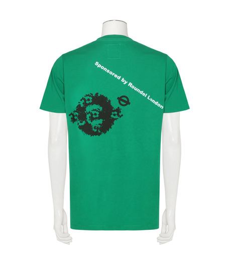 ROUNDEL LONDON(ラウンデル ロンドン)のTest Print T-GREEN(カットソー/cut and sewn)-FMRLAM10008-22 詳細画像2