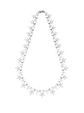 Fallon Monarch Pointed Cluster Choker