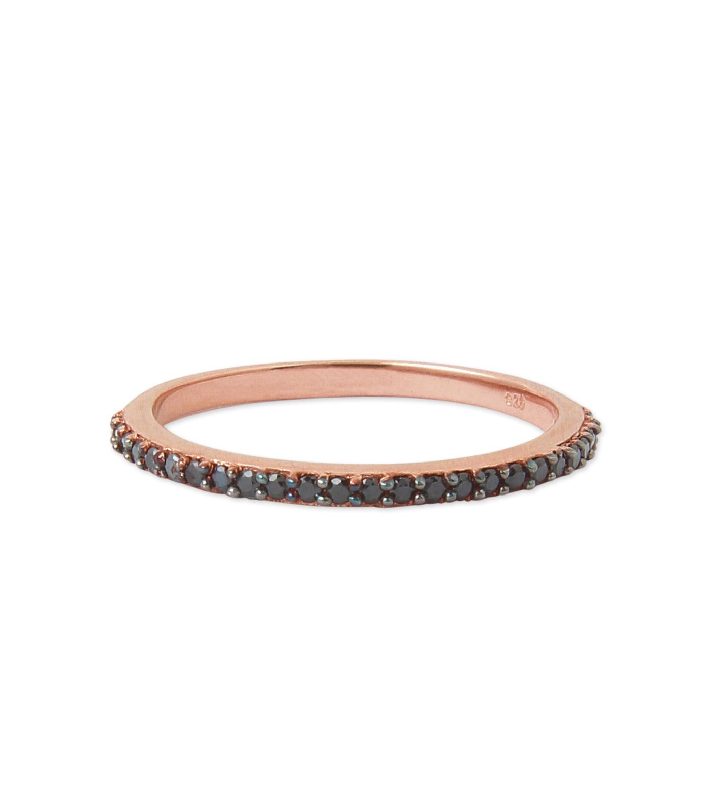 Priyanka(プリヤンカ)のSolitaire Ring-BLACK(リング/ring)-FR-003-13 拡大詳細画像1