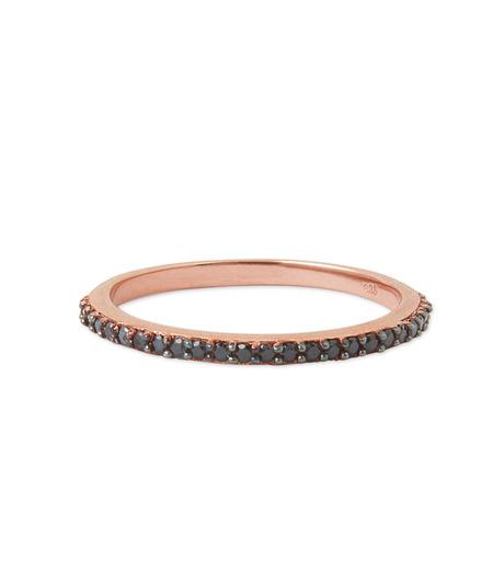 Priyanka(プリヤンカ)のSolitaire Ring-BLACK(リング/ring)-FR-003-13 詳細画像1