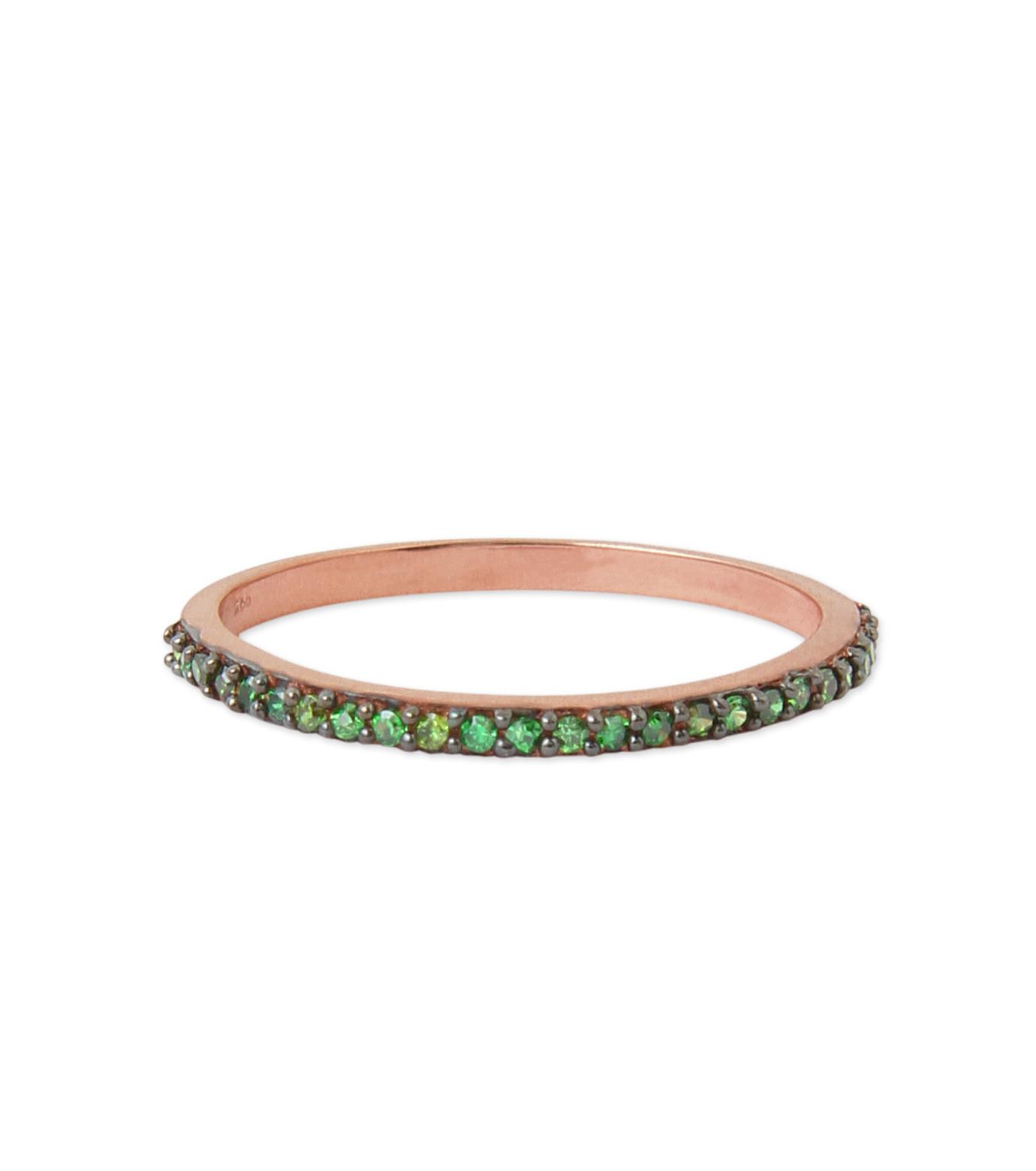 Priyanka(プリヤンカ)のSolitaire Ring-GREEN(リング/ring)-FR-004-22 拡大詳細画像1