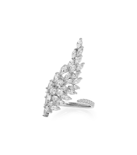 Fallon(ファロン)のMonarch Cluster Wing Ring-SILVER(リング/ring)-FR11602-1 詳細画像1