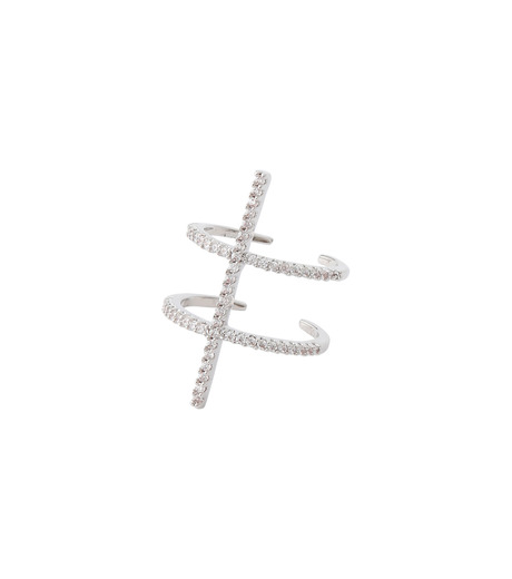 Fallon(ファロン)のPave Ladder Ring-SILVER(リング/ring)-FR21550-1 詳細画像2