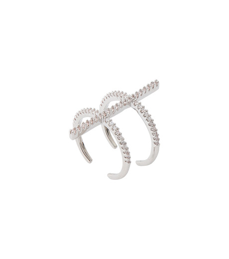 Fallon(ファロン)のPave Ladder Ring-SILVER(リング/ring)-FR21550-1 詳細画像3