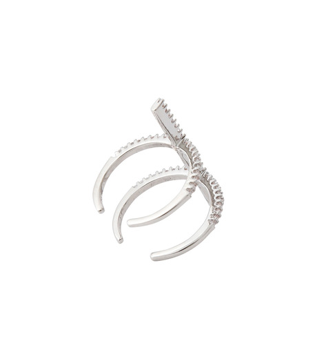 Fallon(ファロン)のPave Ladder Ring-SILVER(リング/ring)-FR21550-1 詳細画像4