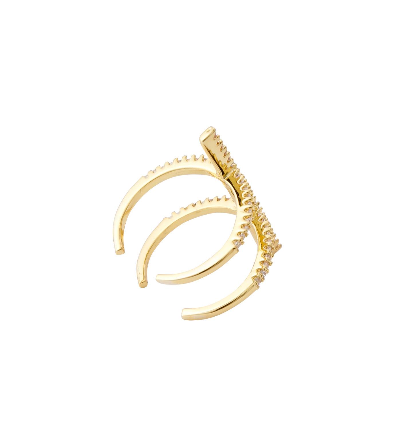 Fallon(ファロン)のPave Ladder Ring-GOLD(リング/ring)-FR21550-2 拡大詳細画像4