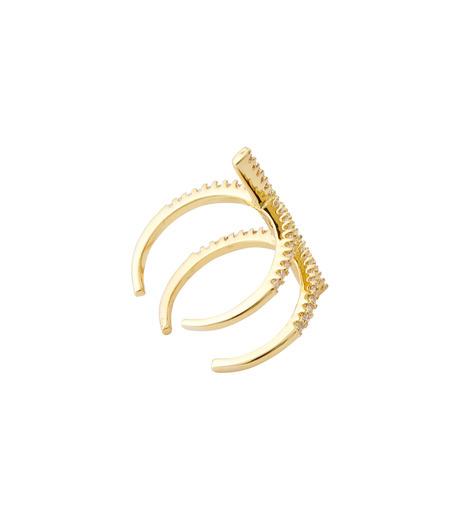Fallon(ファロン)のPave Ladder Ring-GOLD(リング/ring)-FR21550-2 詳細画像4