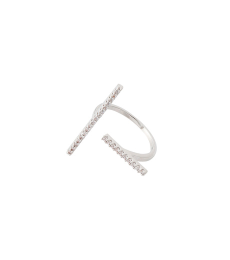 Fallon(ファロン)のPave Tbar Ring-SILVER(リング/ring)-FR21551-1 詳細画像3
