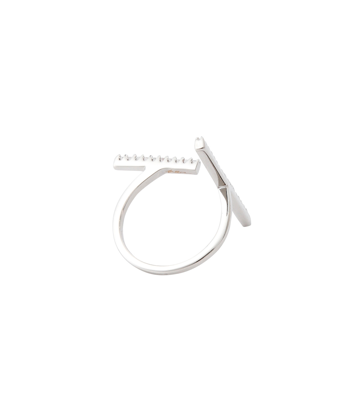 Fallon(ファロン)のPave Tbar Ring-SILVER(リング/ring)-FR21551-1 拡大詳細画像4