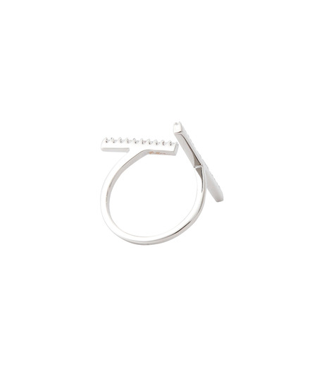 Fallon(ファロン)のPave Tbar Ring-SILVER(リング/ring)-FR21551-1 詳細画像4