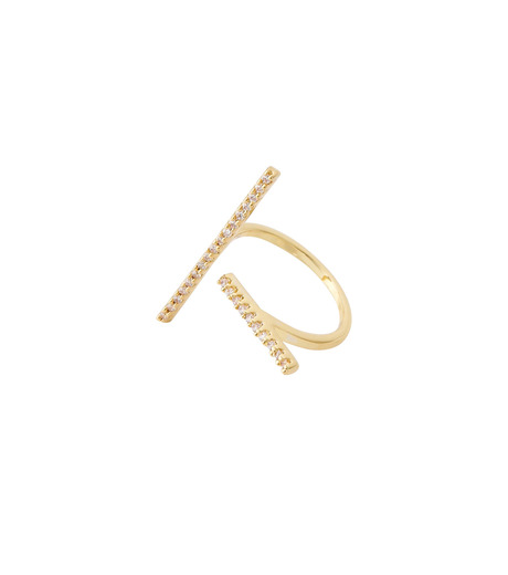 Fallon(ファロン)のPave Tbar Ring-GOLD(リング/ring)-FR21551-2 詳細画像3