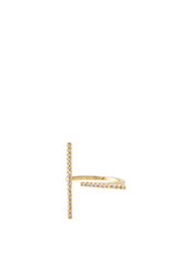 Fallon Pave Tbar Ring