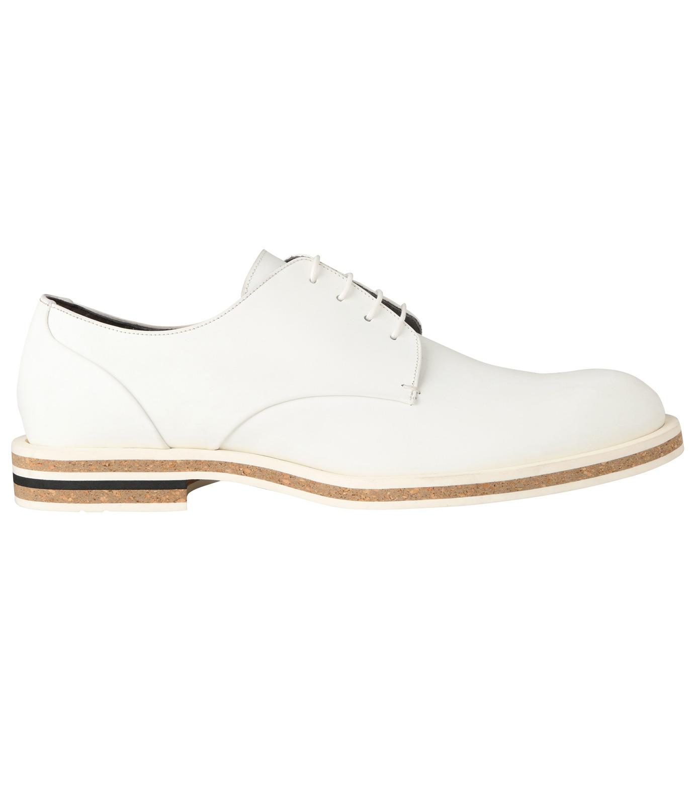 Robert Clergerie(ロベール・クレジュリー)のPlane Toe Shoe-WHITE(シューズ/shoes)-FRANCK-T-4 拡大詳細画像1