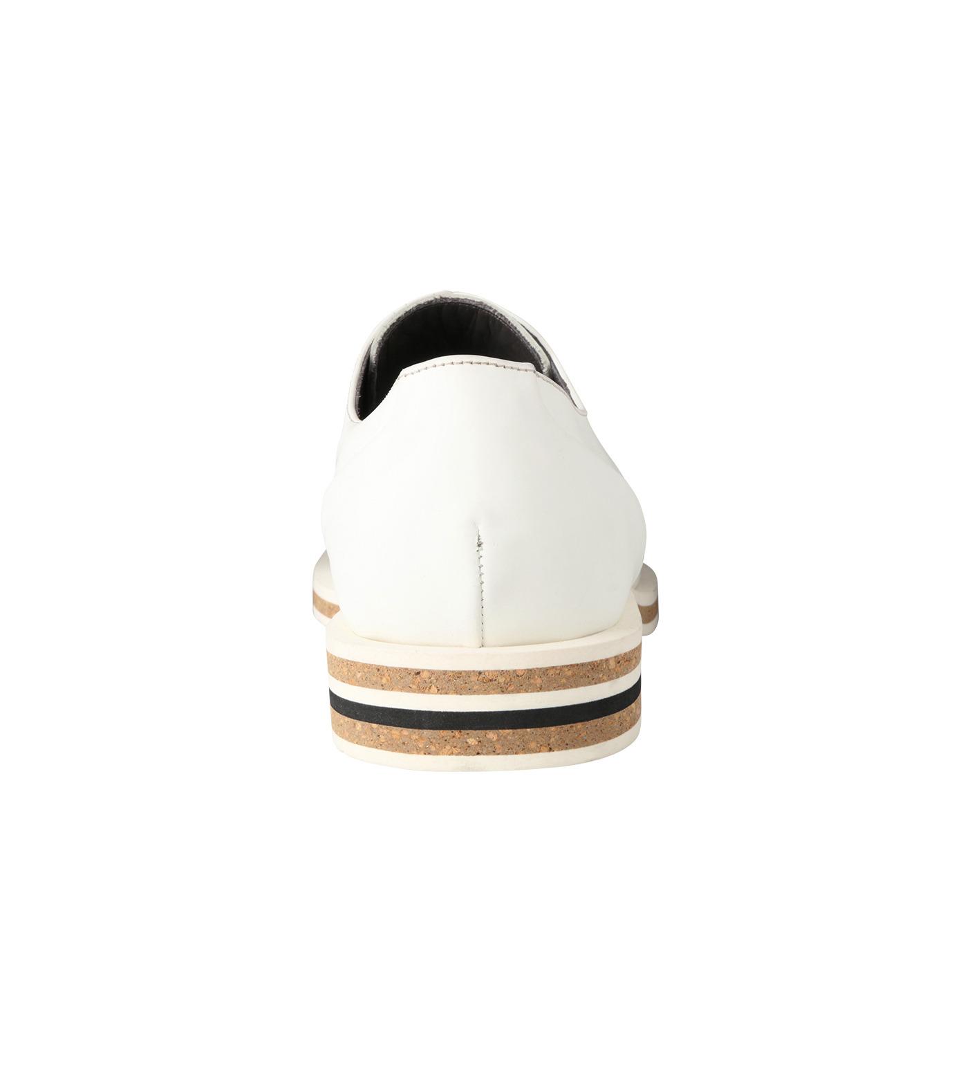 Robert Clergerie(ロベール・クレジュリー)のPlane Toe Shoe-WHITE(シューズ/shoes)-FRANCK-T-4 拡大詳細画像2