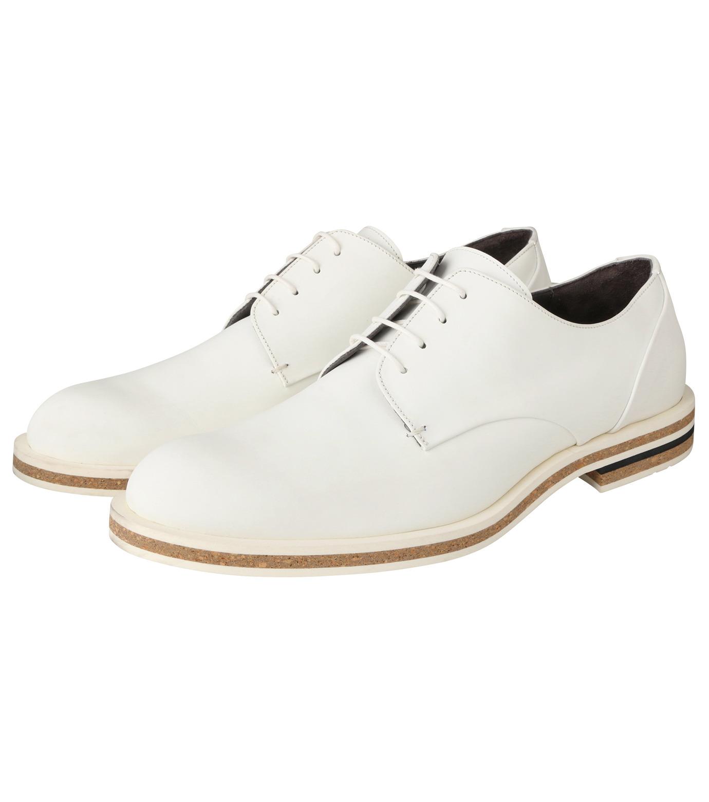 Robert Clergerie(ロベール・クレジュリー)のPlane Toe Shoe-WHITE(シューズ/shoes)-FRANCK-T-4 拡大詳細画像3