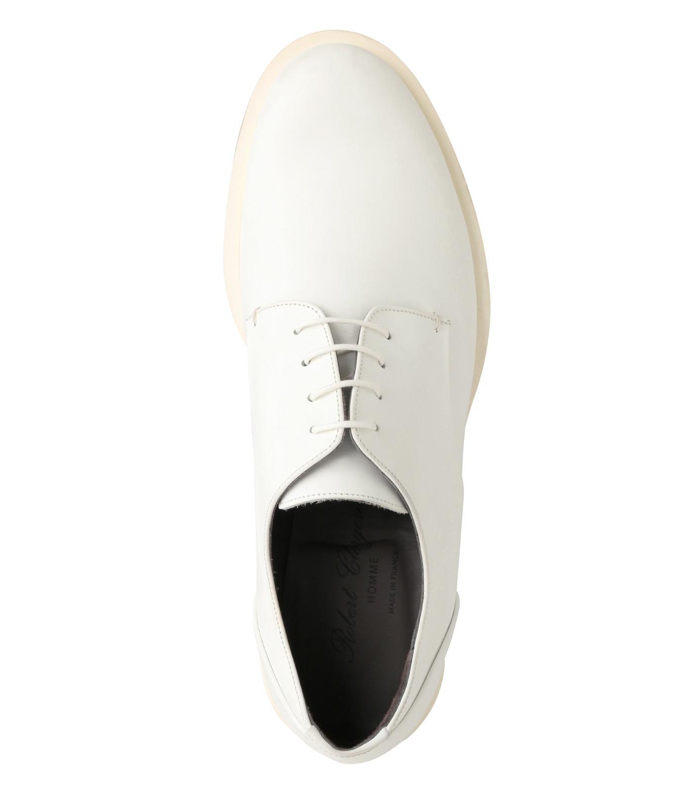 Robert Clergerie(ロベール・クレジュリー)のPlane Toe Shoe-WHITE(シューズ/shoes)-FRANCK-T-4 拡大詳細画像4