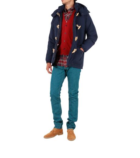 MAISON KITSUNÉ(メゾンキツネ)のMountain jacket-NAVY-FW11-056-OT 詳細画像3
