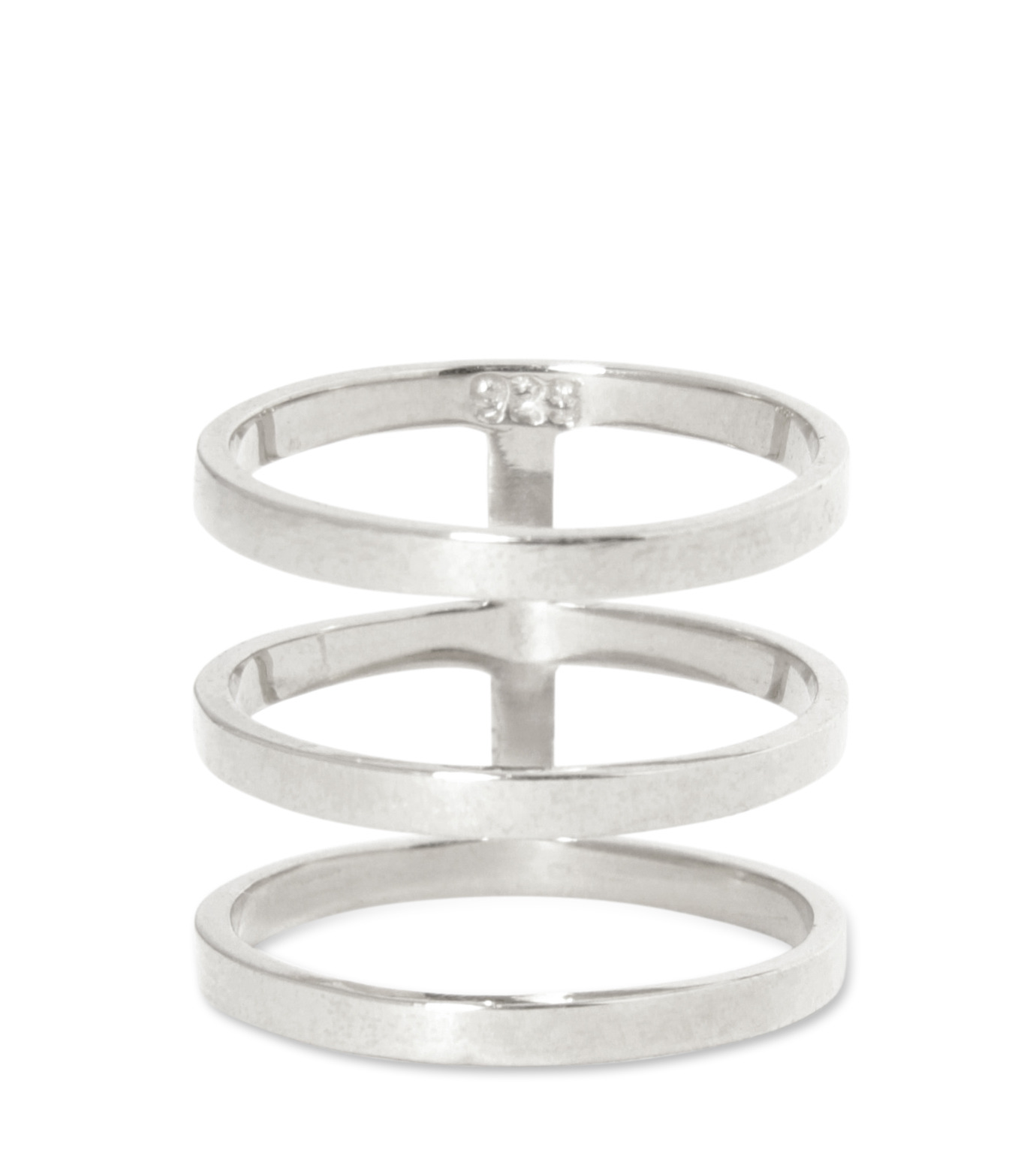 Campbell(キャンベル)のTribar Ring-SILVER(アクセサリー/accessory)-FW13R05-1 拡大詳細画像1