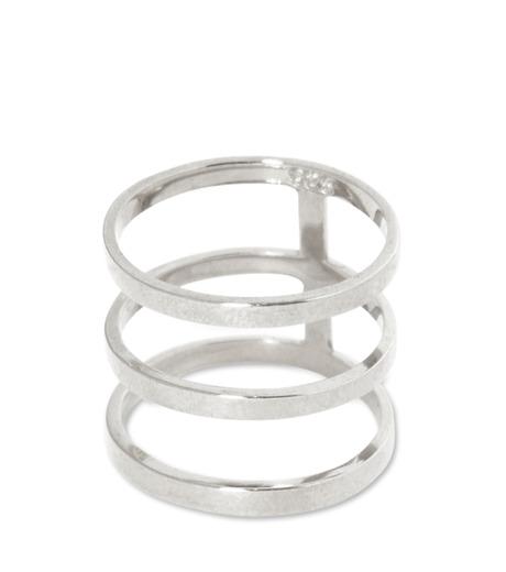 Campbell(キャンベル)のTribar Ring-SILVER(アクセサリー/accessory)-FW13R05-1 詳細画像2