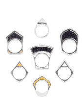 Eddie Borgo Tuareg Ring Set (7Rings)
