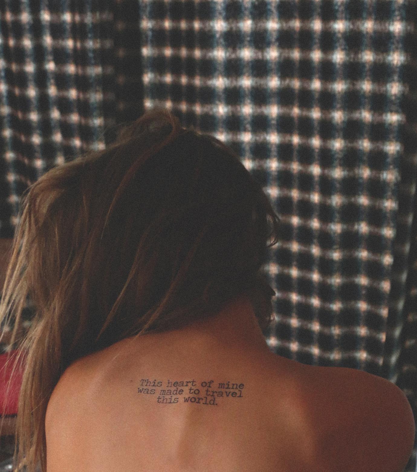 DCER(ディーシーイーアール)のHippie Quotes Tattoo-BLACK(MAKE-UP/MAKE-UP)-FW15006-13 拡大詳細画像3