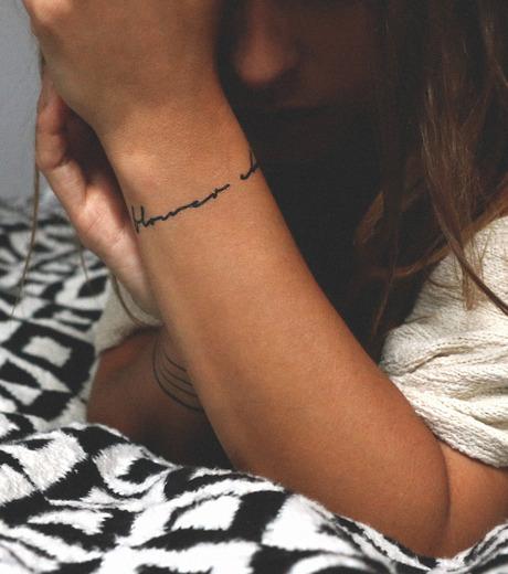 DCER(ディーシーイーアール)のHippie Quotes Tattoo-BLACK(MAKE-UP/MAKE-UP)-FW15006-13 詳細画像4