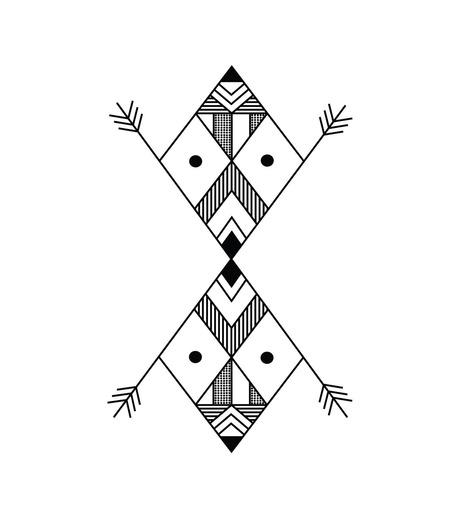 DCER(ディーシーイーアール)のGeometric Black Tattoo-BLACK(MAKE-UP/MAKE-UP)-FW15014-13 詳細画像1