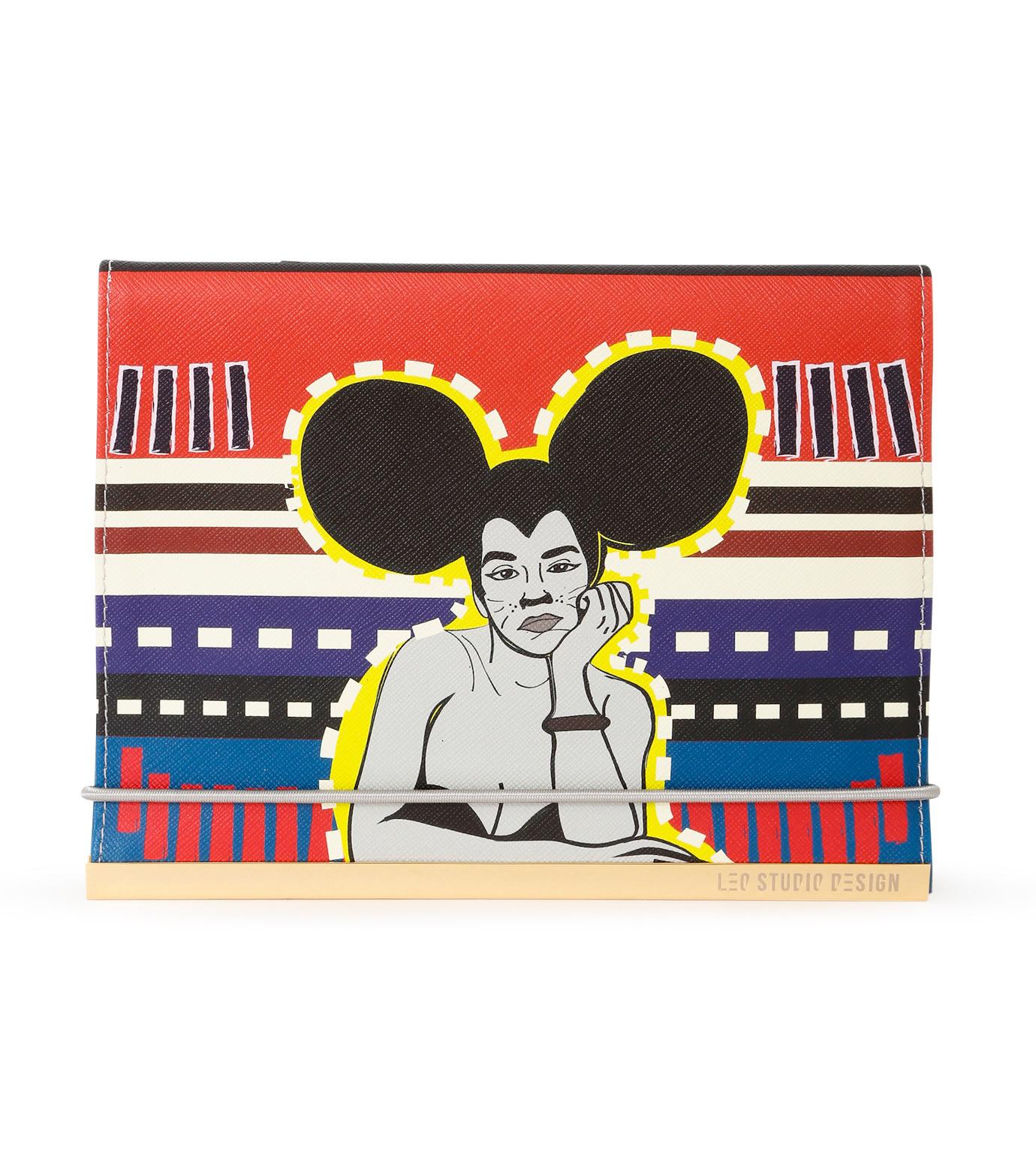 LEO(レオ)のMini Flap Bag Rita-RED(クラッチバッグ/clutch bag)-FW16-009-62 拡大詳細画像1