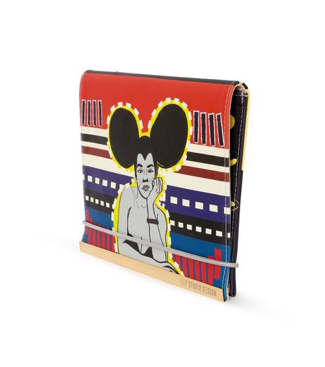 LEO(レオ)のMini Flap Bag Rita-RED(クラッチバッグ/clutch bag)-FW16-009-62 詳細画像3