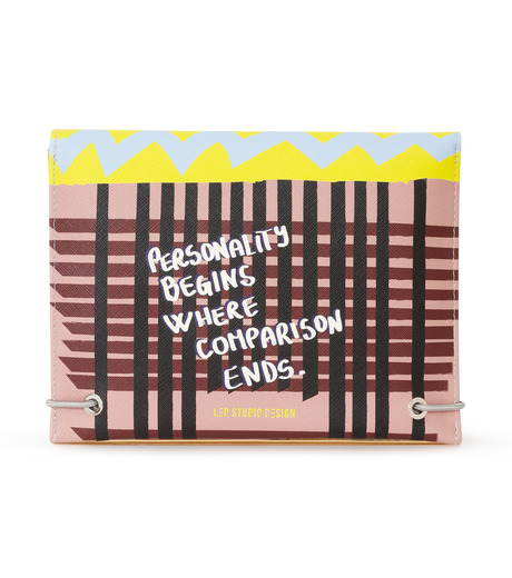 LEO(レオ)のMini Flap Bag Karl-PINK(クラッチバッグ/clutch bag)-FW16-009-72 詳細画像2