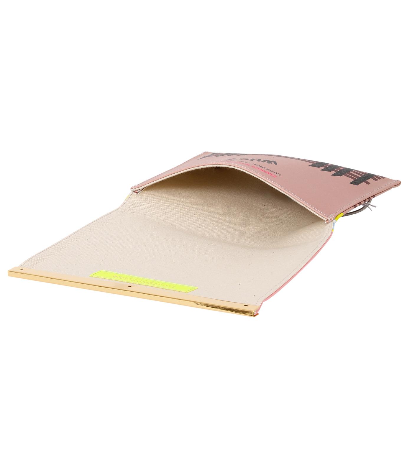 LEO(レオ)のMini Flap Bag Karl-PINK(クラッチバッグ/clutch bag)-FW16-009-72 拡大詳細画像4