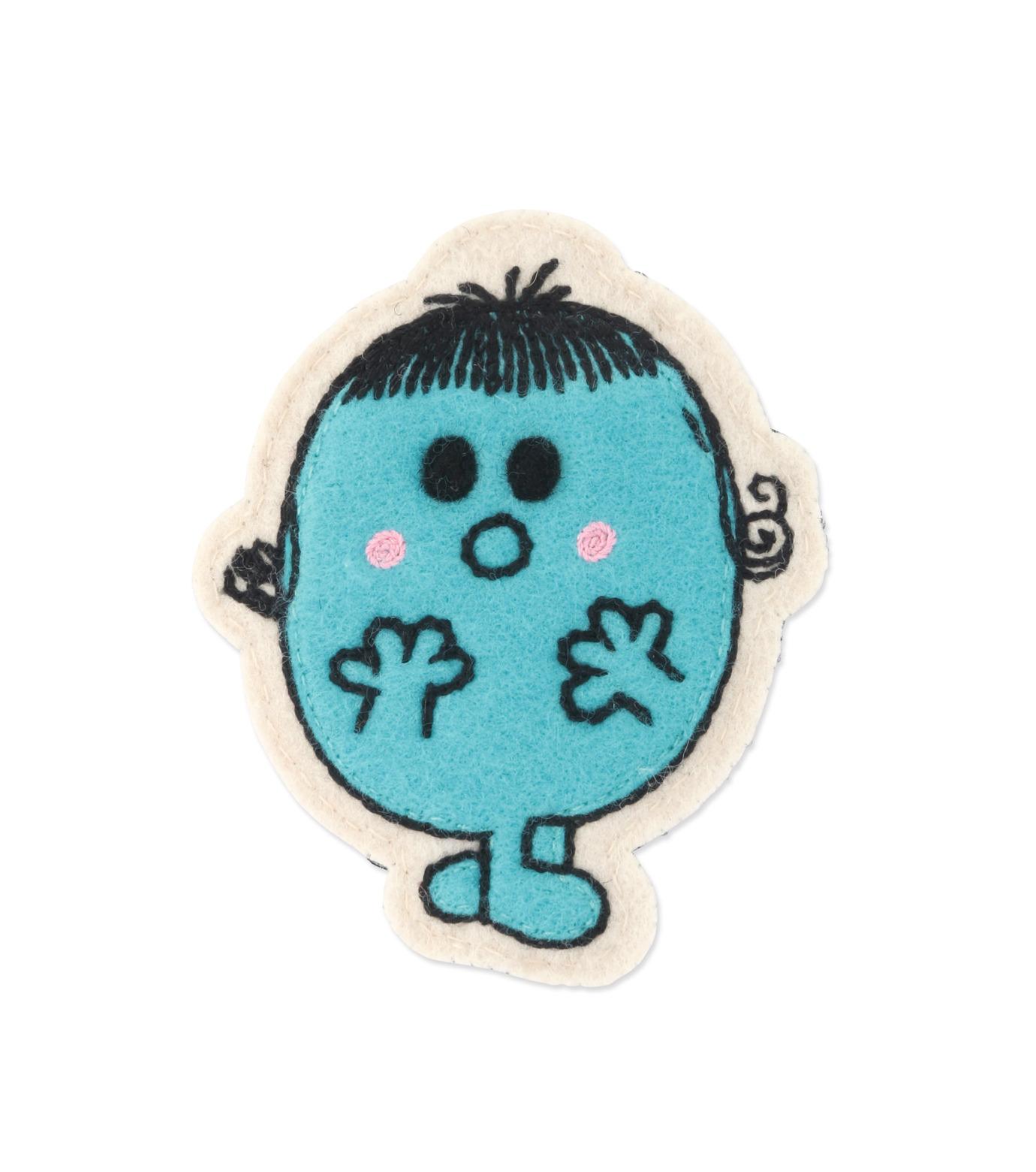 Olympia Le-Tan(オリンピア ルタン)のLittle Miss Shy Velcro Patches-TURQUOISE(アクセサリー/accessory)-FW16APA011-95 拡大詳細画像1