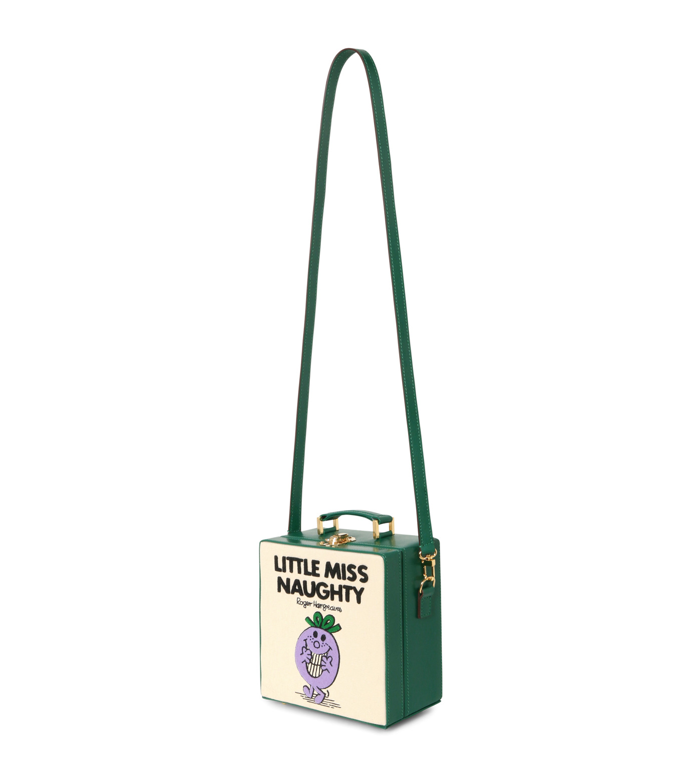 Olympia Le-Tan(オリンピア ルタン)のLittle Miss Naughty 7-Inch-WHITE(ショルダーバッグ/shoulder bag)-FW16B7I007-5 拡大詳細画像2
