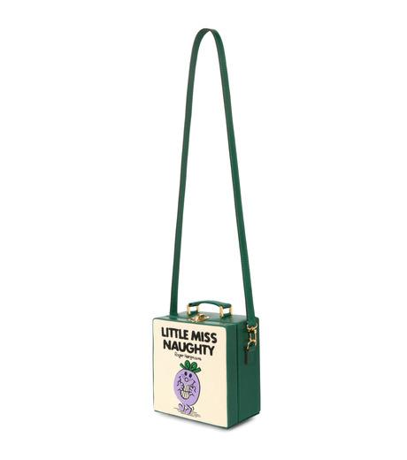 Olympia Le-Tan(オリンピア ルタン)のLittle Miss Naughty 7-Inch-WHITE(ショルダーバッグ/shoulder bag)-FW16B7I007-5 詳細画像2