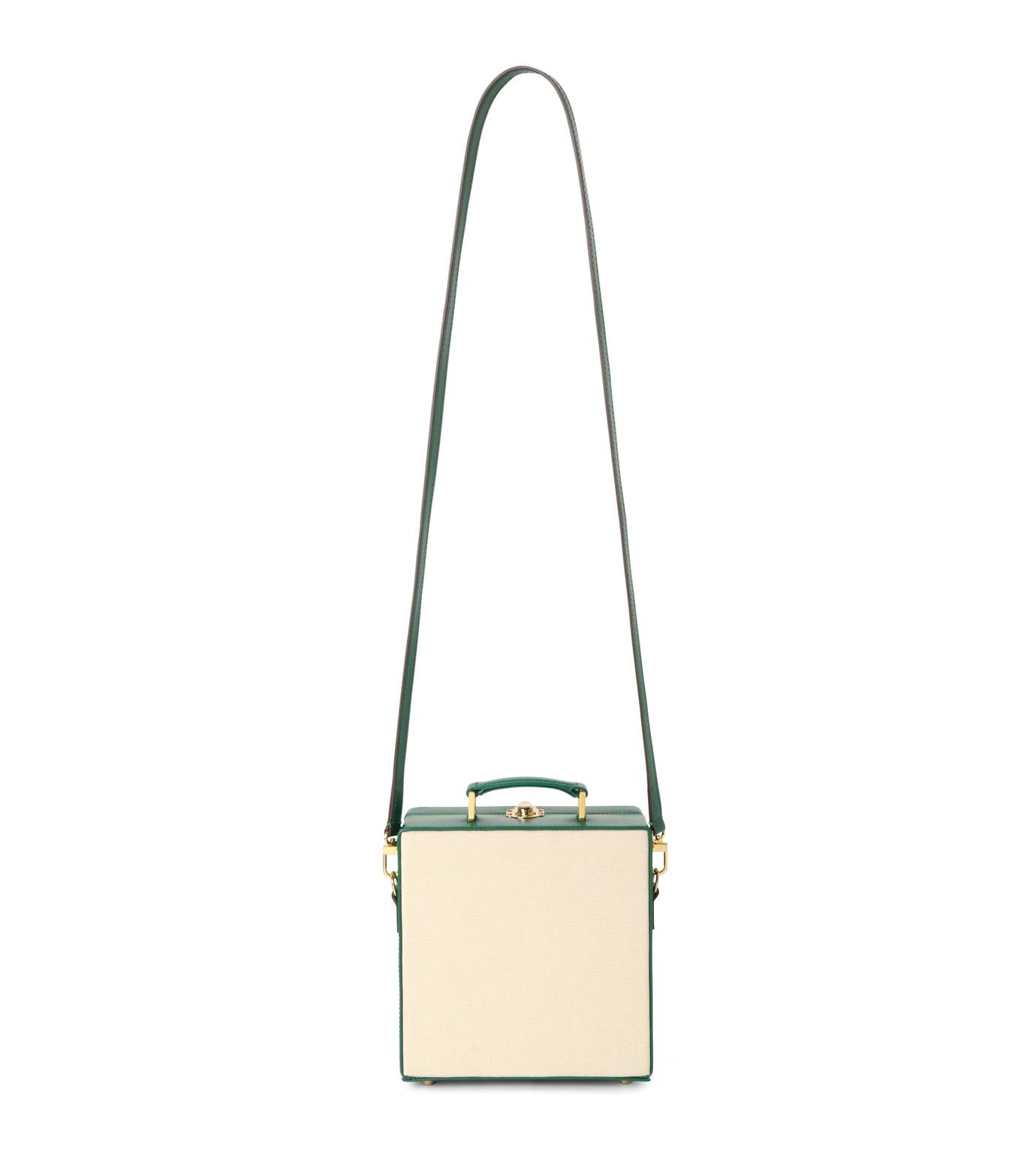 Olympia Le-Tan(オリンピア ルタン)のLittle Miss Naughty 7-Inch-WHITE(ショルダーバッグ/shoulder bag)-FW16B7I007-5 拡大詳細画像3