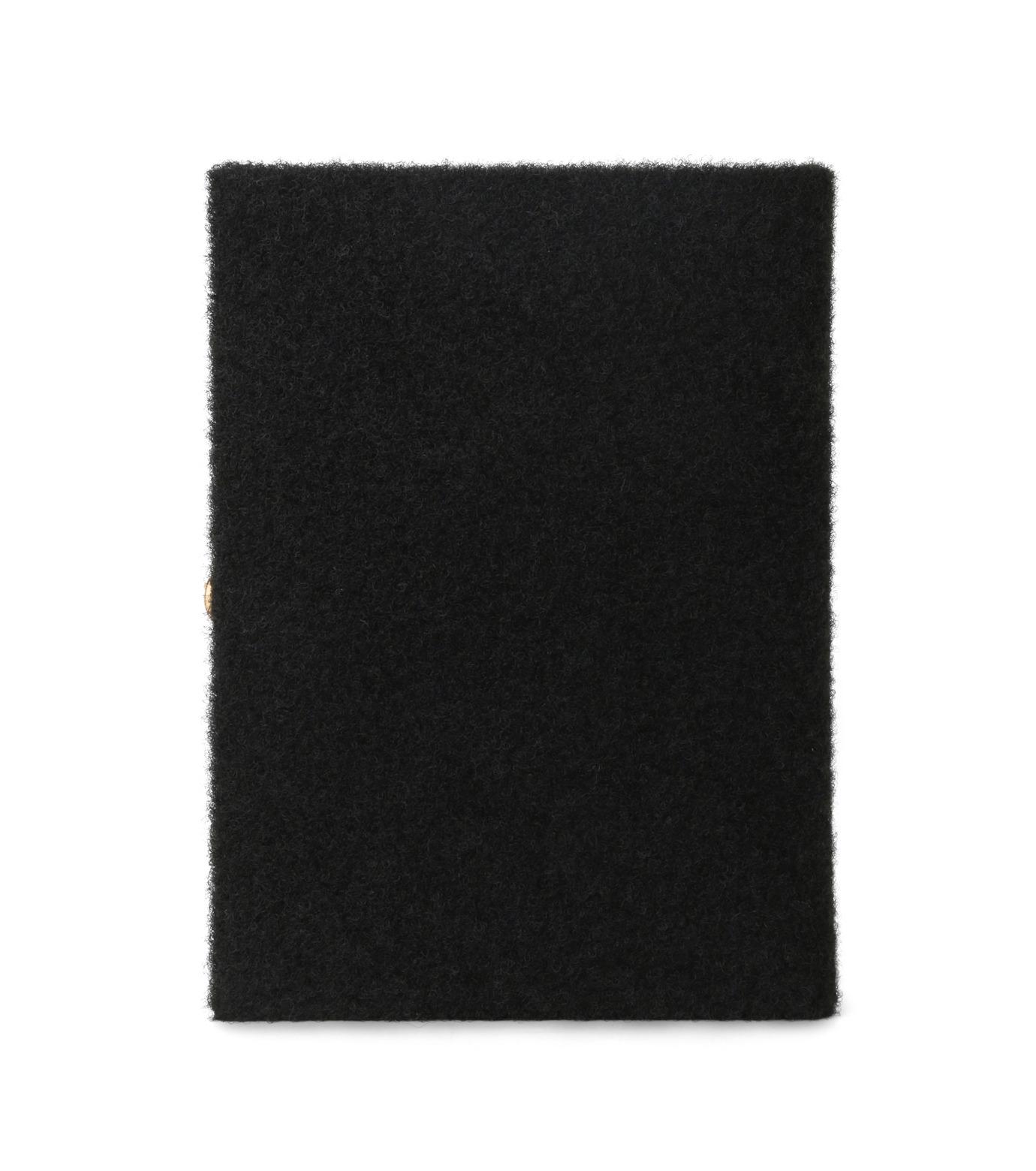 Olympia Le-Tan(オリンピア ルタン)のBook Clutch Velcro-BLACK(クラッチバッグ/clutch bag)-FW16BBC024-13 拡大詳細画像3
