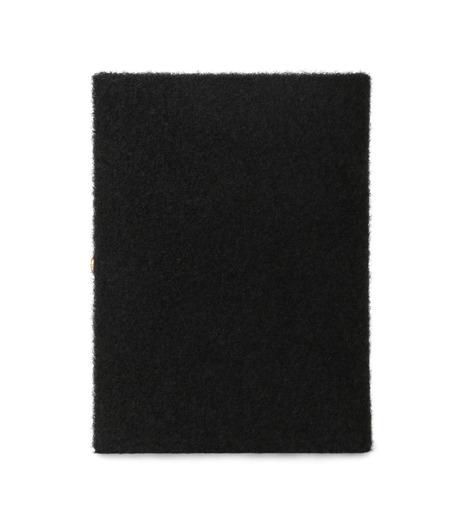 Olympia Le-Tan(オリンピア ルタン)のBook Clutch Velcro-BLACK(クラッチバッグ/clutch bag)-FW16BBC024-13 詳細画像3