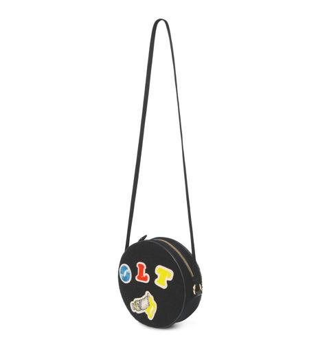 Olympia Le-Tan(オリンピア ルタン)のBlack Velcro Dizzie Bag-BLACK(ショルダーバッグ/shoulder bag)-FW16BDI008-13 詳細画像2
