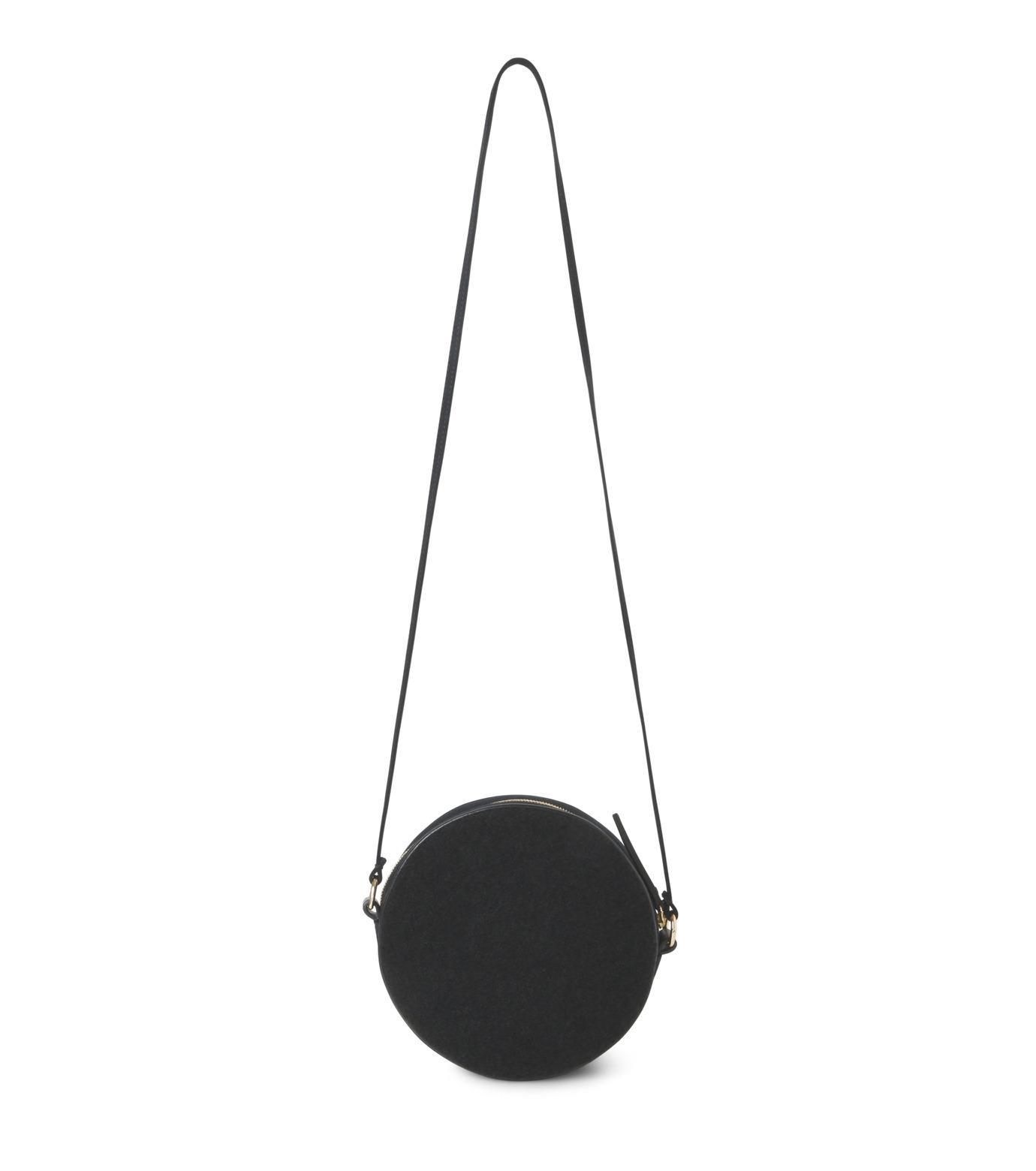 Olympia Le-Tan(オリンピア ルタン)のBlack Velcro Dizzie Bag-BLACK(ショルダーバッグ/shoulder bag)-FW16BDI008-13 拡大詳細画像3