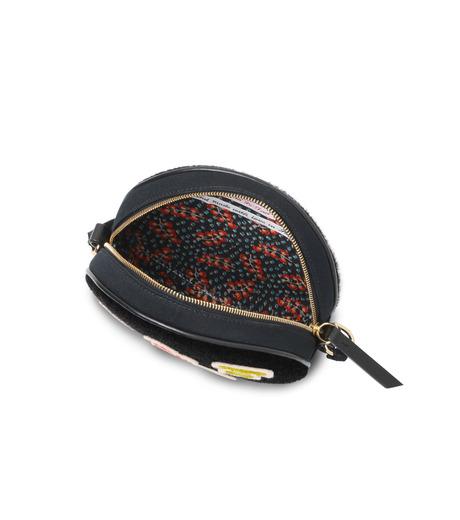 Olympia Le-Tan(オリンピア ルタン)のBlack Velcro Dizzie Bag-BLACK(ショルダーバッグ/shoulder bag)-FW16BDI008-13 詳細画像4