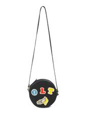 Olympia Le-Tan(オリンピア ルタン) Black Velcro Dizzie Bag