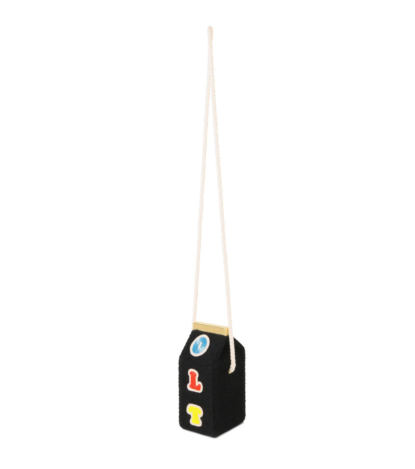 Olympia Le-Tan(オリンピア ルタン)のVelcro Milk Box-BLACK(ショルダーバッグ/shoulder bag)-FW16BMB300-13 拡大詳細画像2