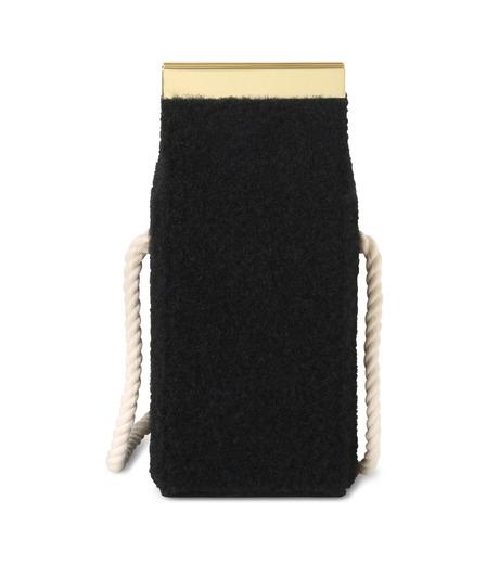Olympia Le-Tan(オリンピア ルタン)のVelcro Milk Box-BLACK(ショルダーバッグ/shoulder bag)-FW16BMB300-13 詳細画像3