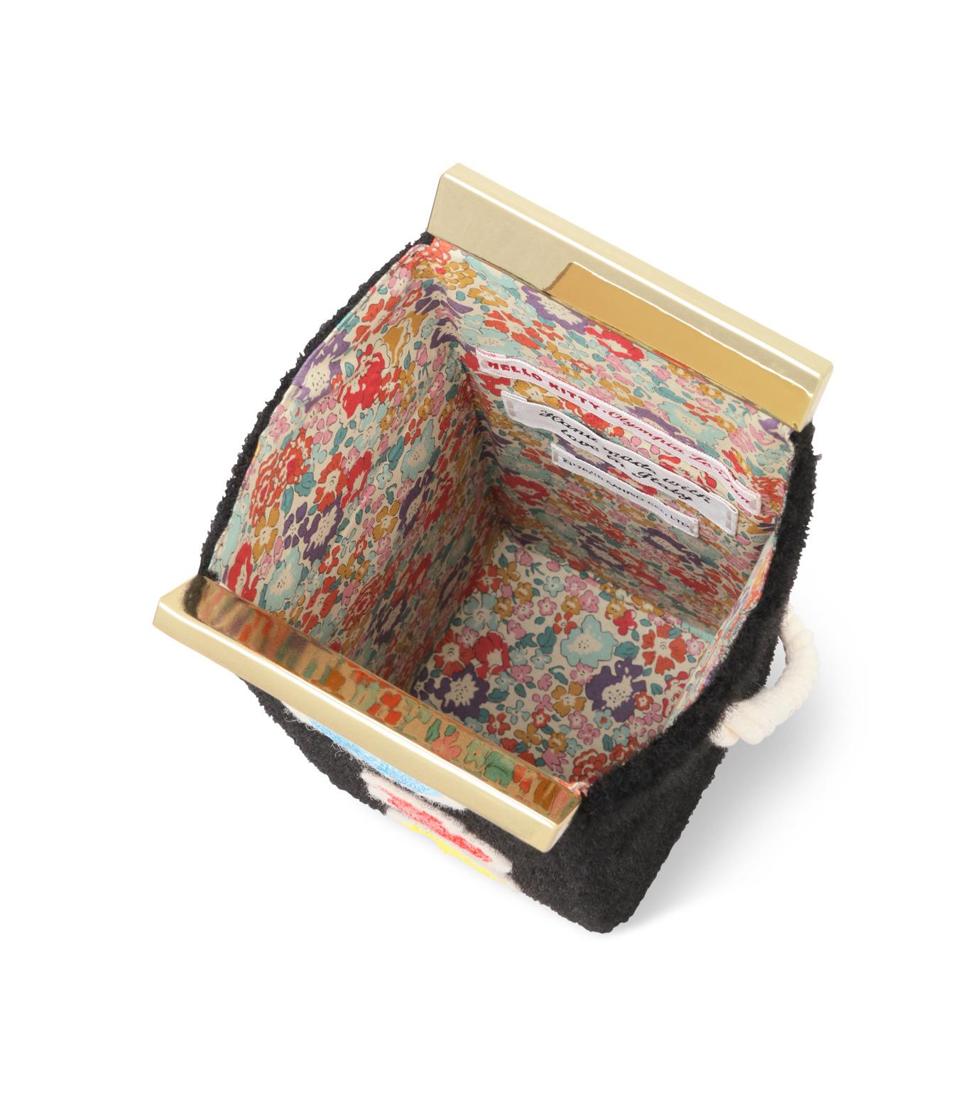 Olympia Le-Tan(オリンピア ルタン)のVelcro Milk Box-BLACK(ショルダーバッグ/shoulder bag)-FW16BMB300-13 拡大詳細画像4