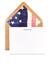 Terrapin Stationers Made in usa card
