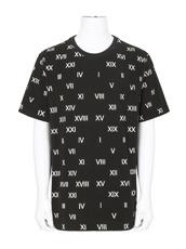 Gosha Rubchinskiy(ゴーシャ・ラブチンスキー) T-Shirt Roman Letters